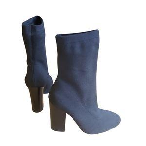 Kendall + Kylie Black Sock Heels size 9.5M